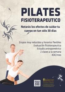 pilates poster nuevo ago 13 A3